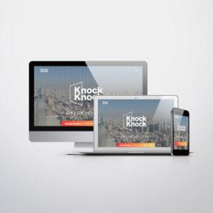 動画配信プラットフォーム、ノックノックランディングページ