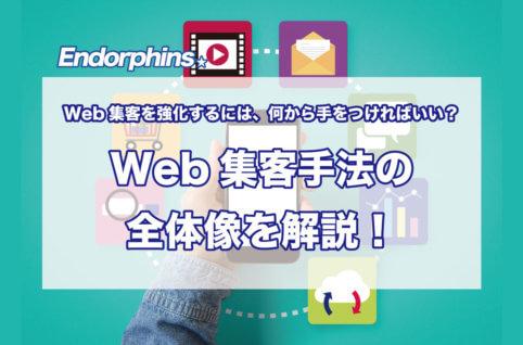 Webでの集客力を強化するには、何から手をつければいい?Web集客手法の全体像を解説!サムネイル