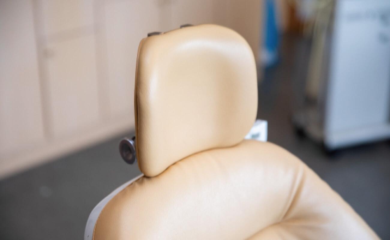 実店舗の椅子の写真