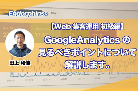 【Web集客運用 初級編】GoogleAnalyticsの見るべきポイントについて解説します。サムネイル